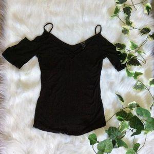 🌼Sexy black top